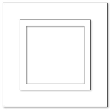 Picture Frame - A4 Square