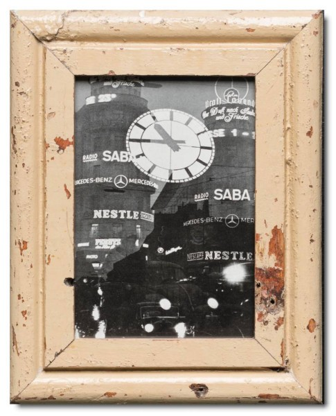 Basic rustic timber photo frame for picture size 15 x 20 cm
