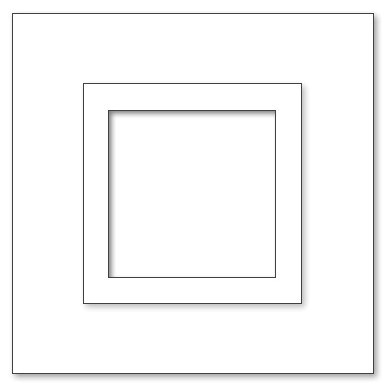Picture Frame - A5 Square