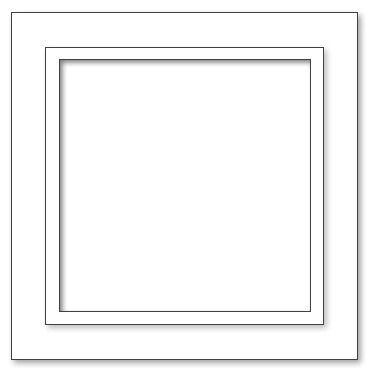 Picture Frame - A2 Square