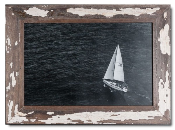 Basic rustic timber picture frame for picture size 25 x 38 cm