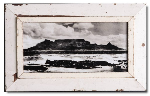 Panoramic rustic timber picture frame for photo size A3 panoramic