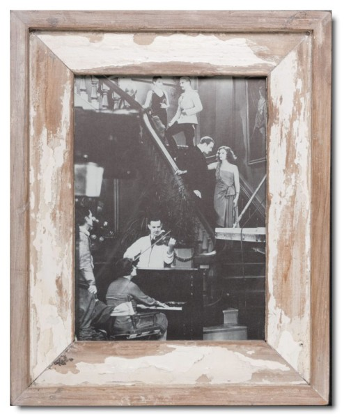 Distressed wooden frame for photo size 29,7 x 21 cm