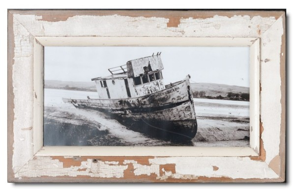 Panoramic rustic timber frame for photo size 2:1