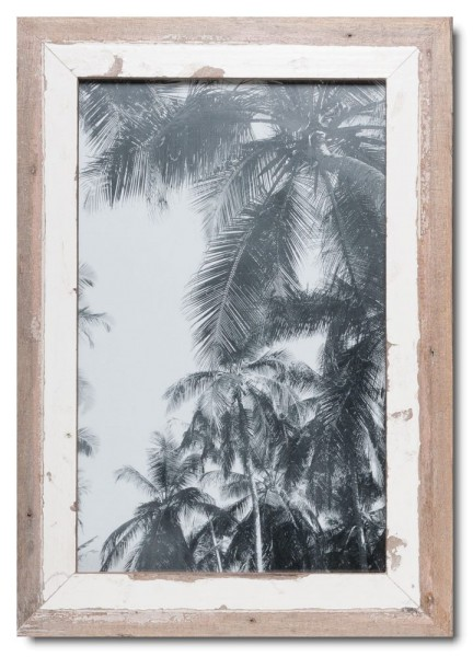 Basic rustic timber frame for photo size 25 x 38 cm