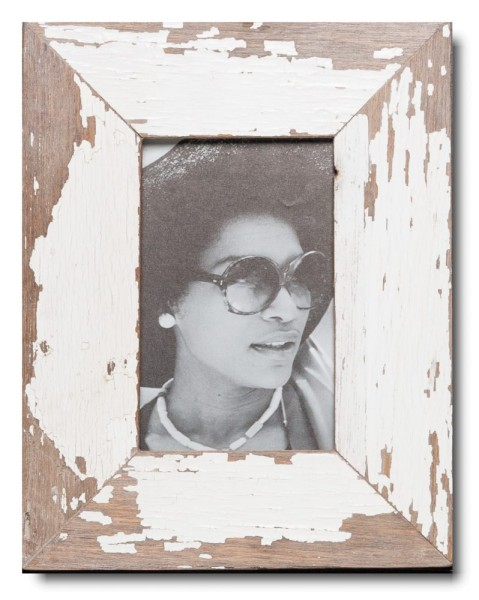 Basic Reclaimed wood frame for photo format 10 x 15 cm