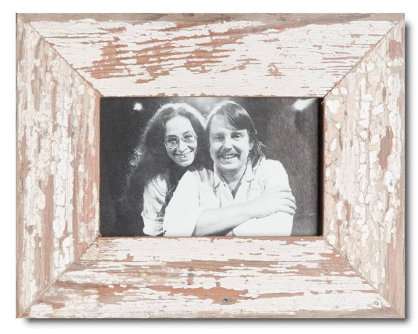 Basic rustic timber photo frame for picture format 10 x 15 cm