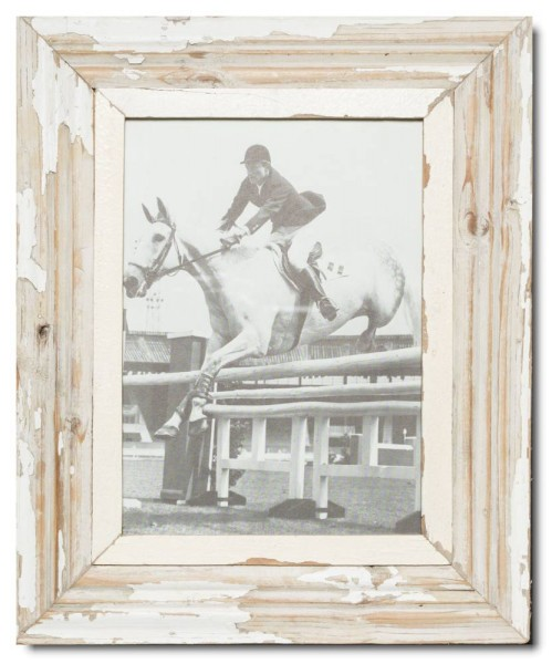 Reclaimed wood frame for picture size 29,7 x 21 cm