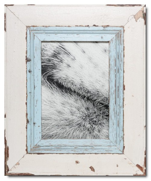 Wide rustic timber photo frame for picture size 29,7 x 21 cm