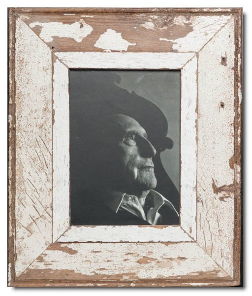 Rustic timber picture frame for picture size A5