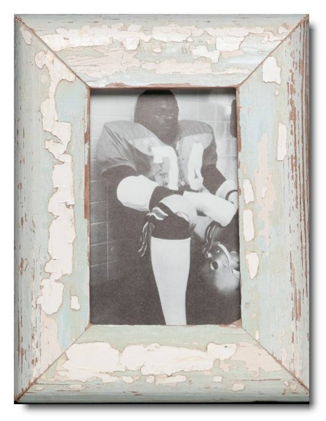 Basic reclaimed wood picture frame