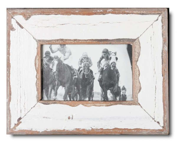 Basic rustic timber photo frame for photo size 10 x 15 cm