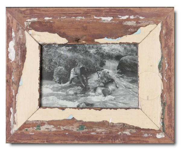 Basic Reclaimed wood frame for picture size 10 x 15 cm