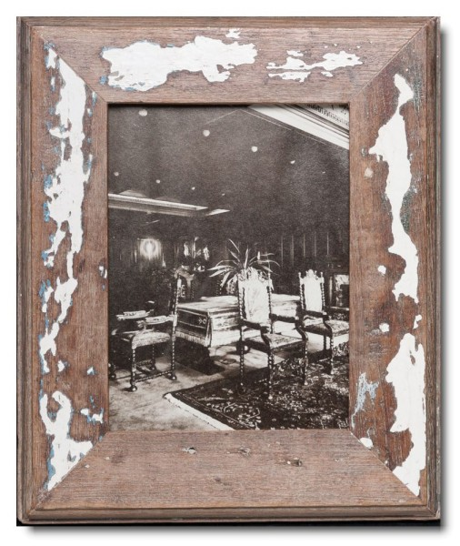 Basic rustic timber frame for photo format 15 x 20 cm