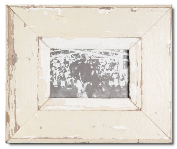 Rustic timber frame for picture format A6