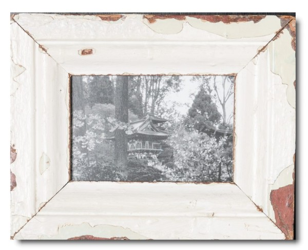 Basic reclaimed wood photo frame for picture size 10 x 15 cm
