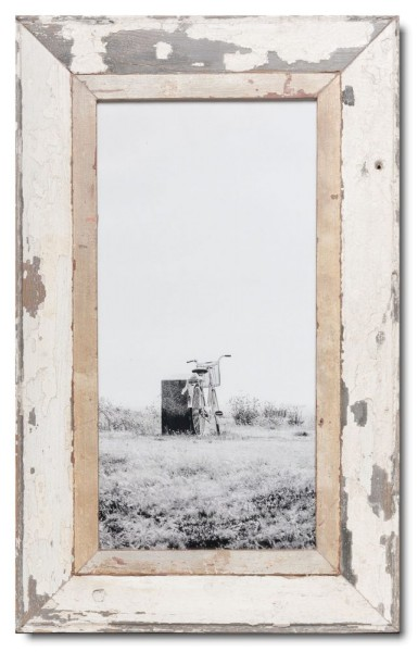 Panoramic rustic timber picture frame
