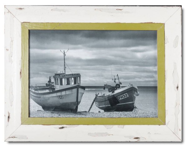 Rustic timber photo frame for picture format A3