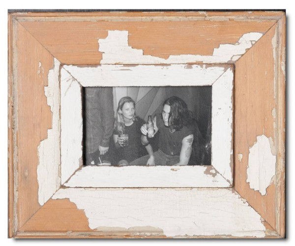 Reclaimed wood photo frame