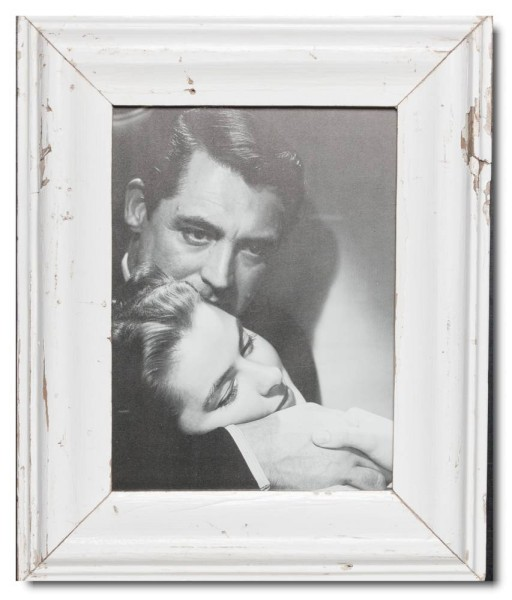 Reclaimed wood frame for photo format 29,7 x 21 cm