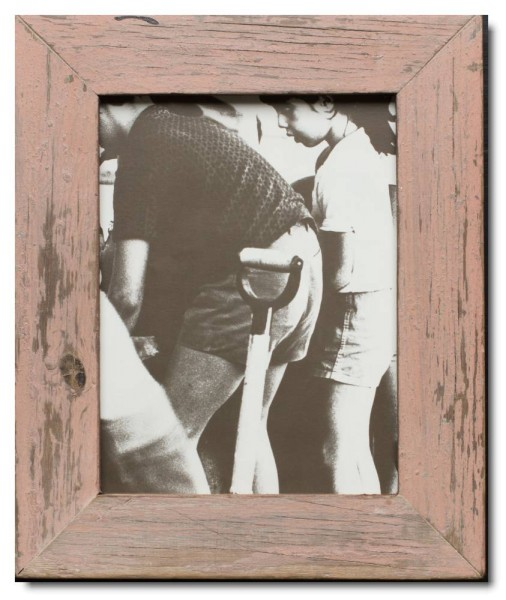 Basic rustic timber picture frame for picture size 20 x 25 cm