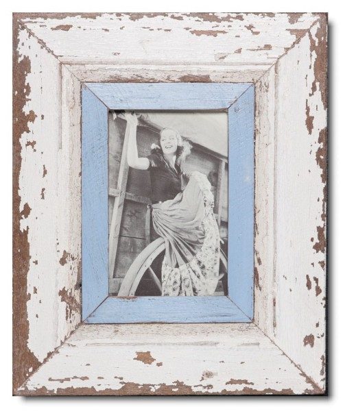Rustic timber picture frame