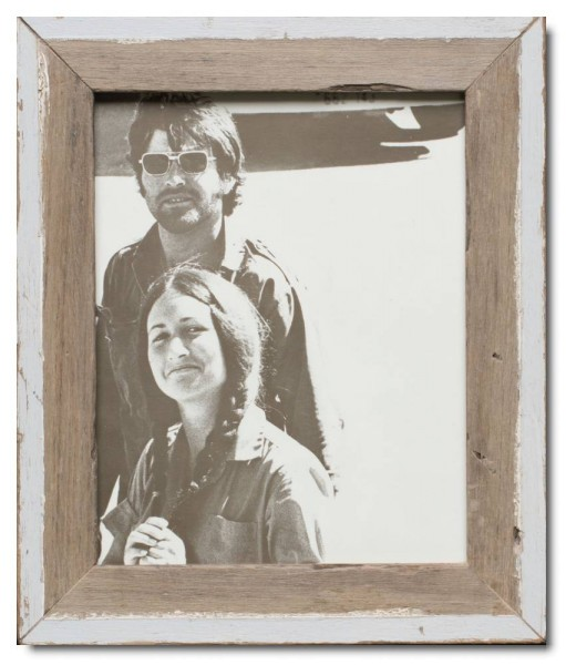 Basic rustic timber photo frame for photo format 20 x 25 cm