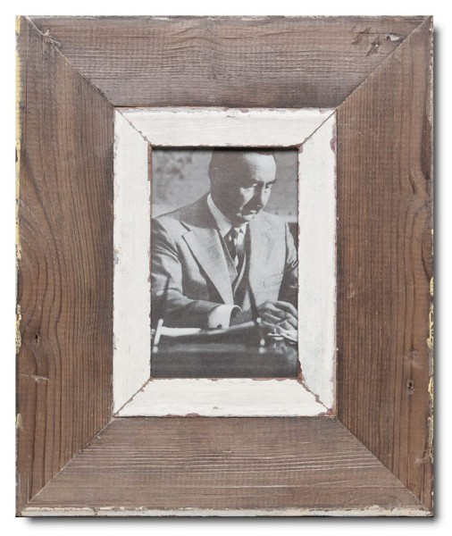 Distressed wooden frame for photo size A6
