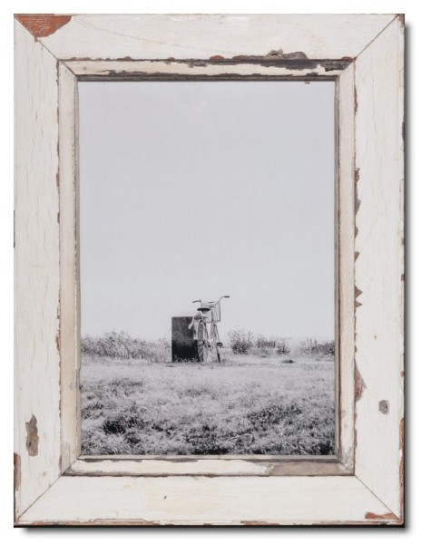 Reclaimed wood frame for picture size 42 x 29,7 cm