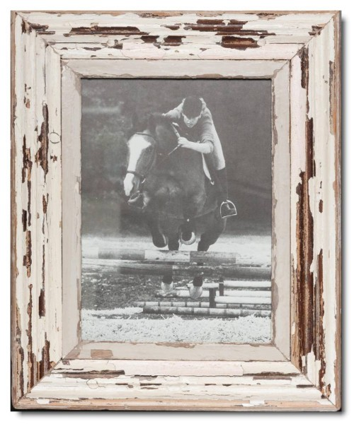 Rustic timber photo frame for picture size 29,7 x 21 cm