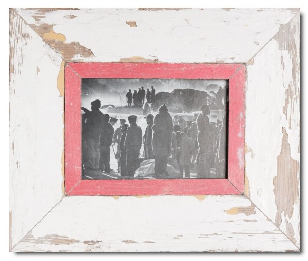 Wide Reclaimed wood frame for photo format A5