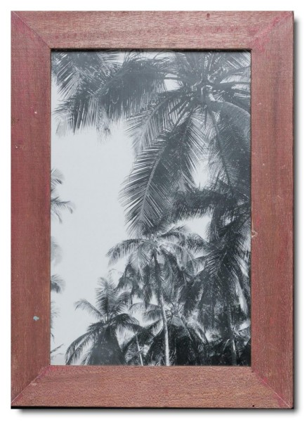 Basic rustic timber frame for picture format 25 x 38 cm