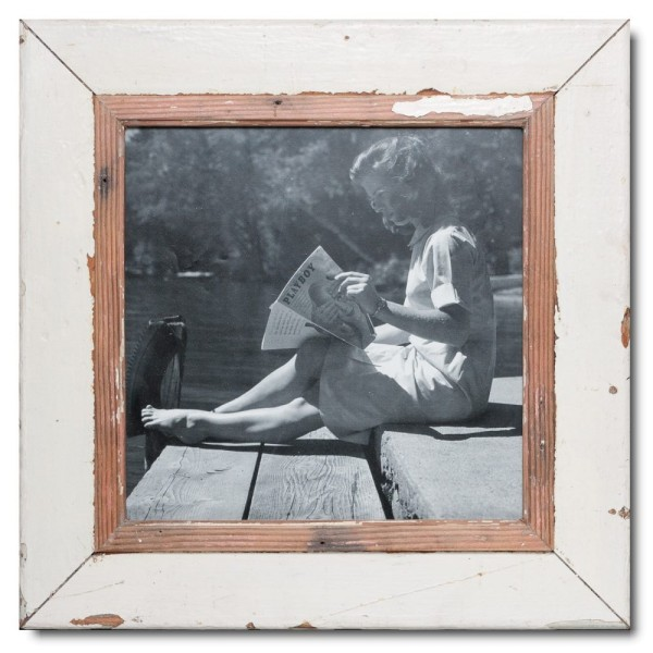 Square Reclaimed wood frame