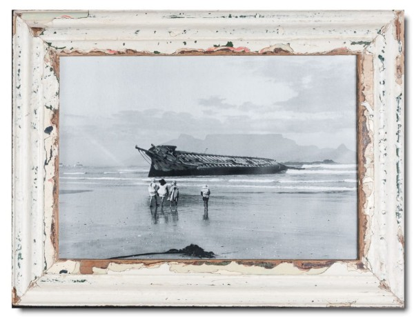 Rustic timber frame for picture format 42 x 29,7 cm