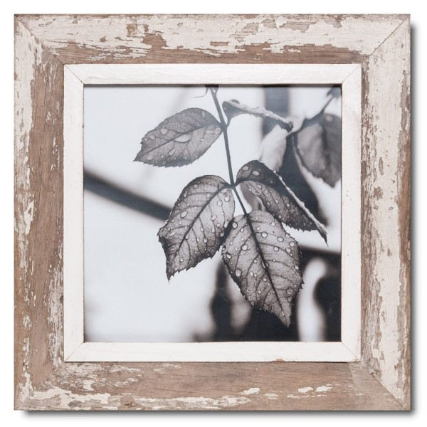 Square Reclaimed wood frame for photo size A3 square