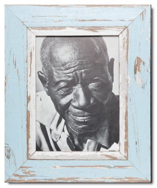 Distressed wooden frame for photo size A4