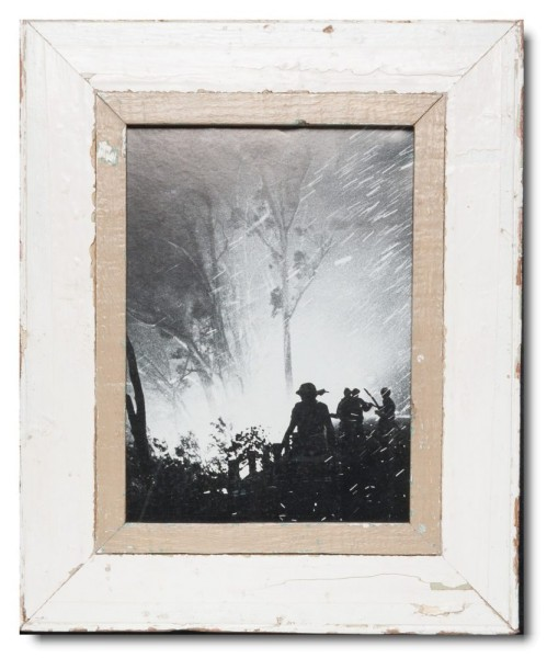 Distressed wooden frame for picture size 29,7 x 21 cm