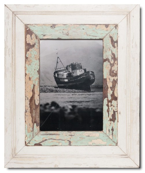 Wide rustic timber frame for photo size 29,7 x 21 cm