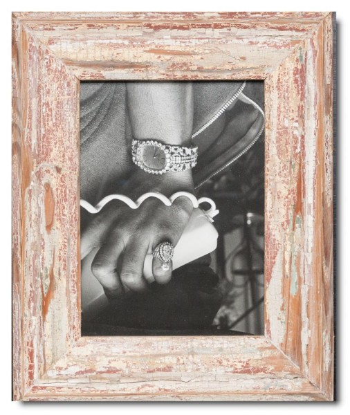 Basic reclaimed wood picture frame for picture size 15 x 20 cm