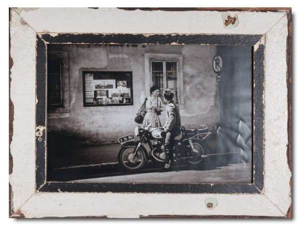 Rustic timber picture frame for photo size A3