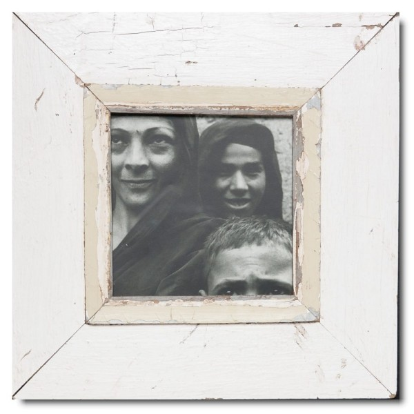 Square rustic timber picture frame