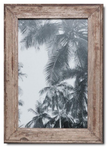 Basic rustic timber photo frame for picture size 25 x 38 cm