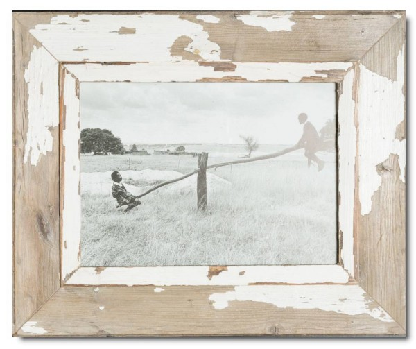 Rustic timber picture frame for photo size 29,7 x 21 cm