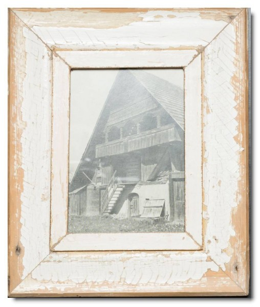 Rustic timber photo frame for picture format A5