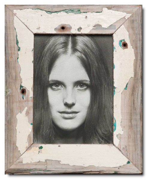 Basic rustic timber photo frame for photo format 15 x 20 cm