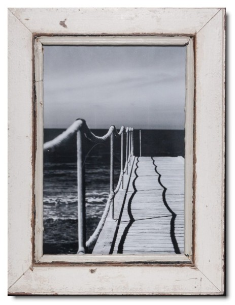 Rustic timber picture frame for picture format 42 x 29,7 cm