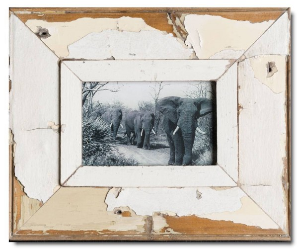 Rustic timber photo frame for photo size A6
