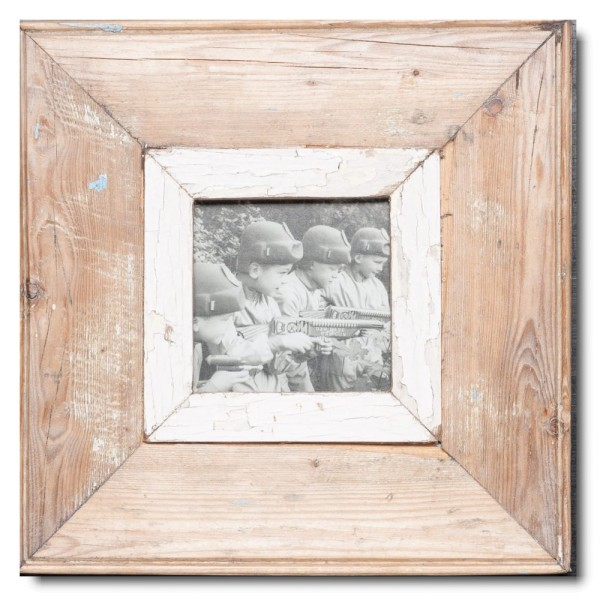 Square rustic timber frame