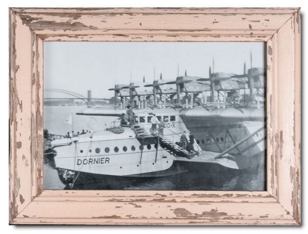 Reclaimed wood picture frame for photo size 42 x 29,7 cm