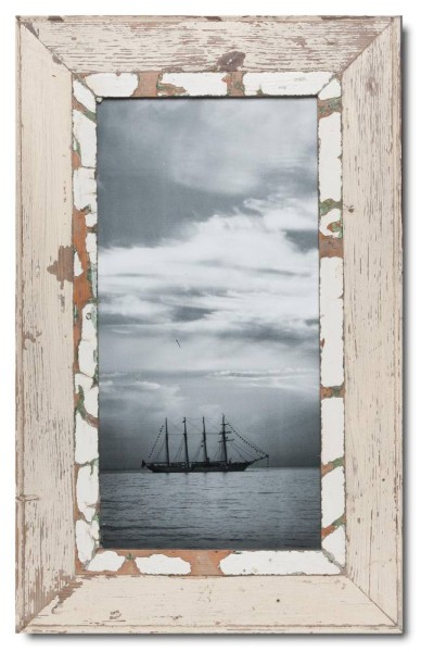 Panoramic Reclaimed wood frame